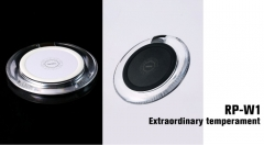 REMAX RP-W1 QI Wireless Smart Wall Charger Pad Home Battery Charger for Handset
