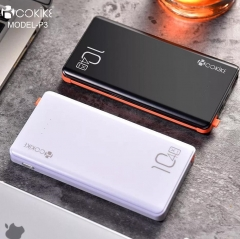 COKIKE-P3 10400mAh Power Bank Exporter Power Station Portable Mobile Charger for Cell phone and Tablets