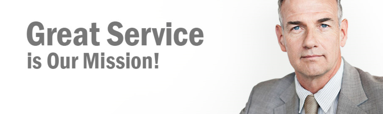 Great Service is Our Mission