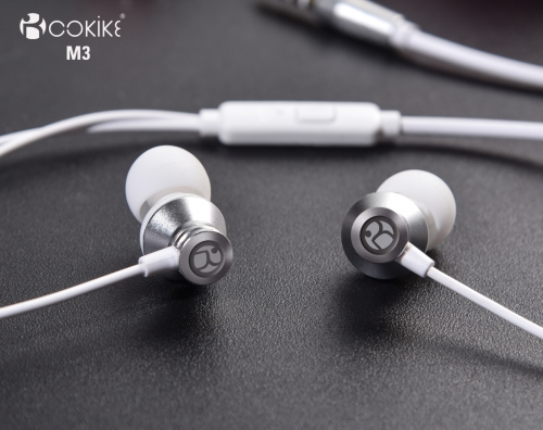 M3 Wired earbuds headset Manufacturers Metal In-Ear Stereo For Cell phone and Tablets