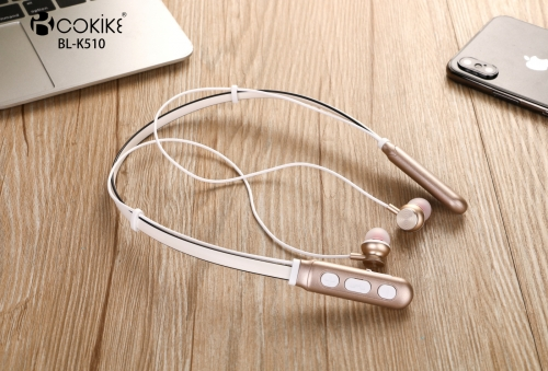 BL-K510 Wireless earphone Manufacturers Bluetooth Headsets Neckband Extra Bass Short Wired Bluetooth Small Sports In-Ear Stereo For Mobile phone