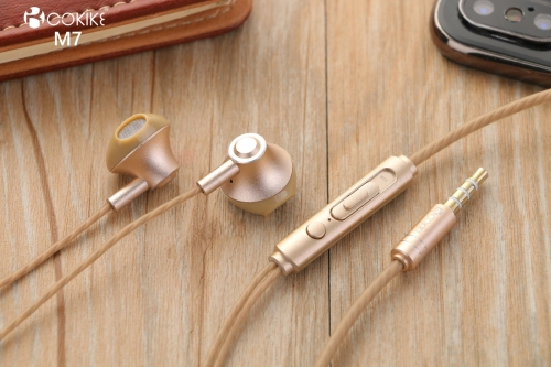 M7 Wired earphones Suppliers headset Metal In-Ear Stereo For Mobile phone and Tablets