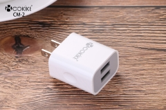 CM-2 Cell phone Charger Universal Charger Manufacturer US Plug Power Adapter With Charging Cable For Cell phone and Tablets