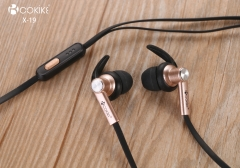 X19 Wired earpiece Tablets earphone Exporter In-Ear Stereo Headphone For Mobile phone and Tablets
