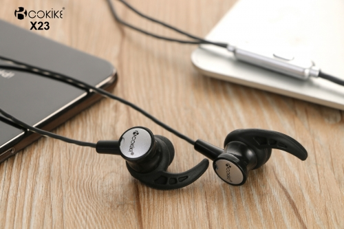 X23 noise cancelling headphones iphone Headset Exporter In-Ear Stereo earphone For Cell phone and Tablets