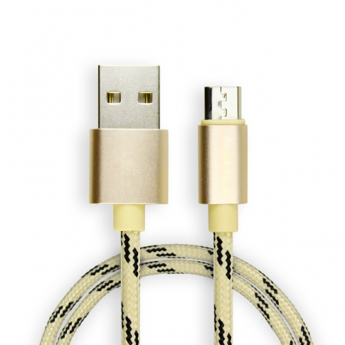 Model-018 Fast Charging Data Cable Handset Charging Cable Wholesaler Aluminum alloy For Cell phone and Tablets