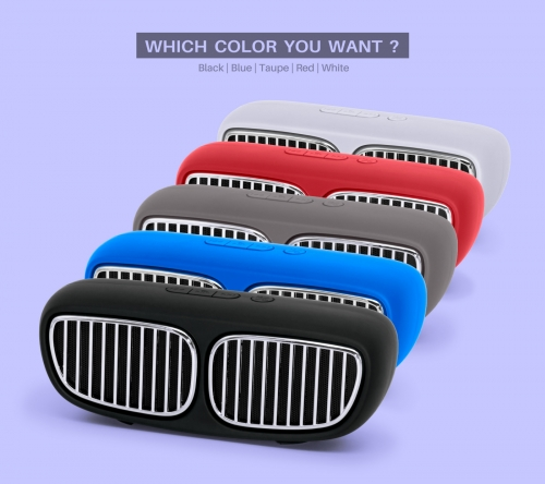 NR-2020 PC Speakers Wireless Mobile Speaker Supplier BMW design TWS function Comfortable hand feeling High cost performance