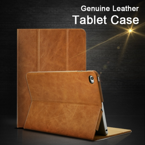 T13-003 Genuine Leather Flip Credit Card Protective Case Exporter Google Tablet carrying Leather Case Extra Slim