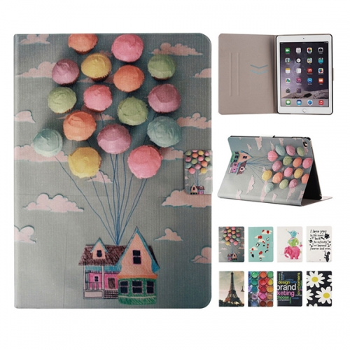T14-001 Painted Flip Credit Card Leather Case amazon tablet Protective Flip Cover Factory