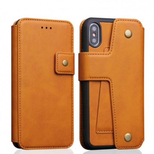 M14-007 Cell phone Folding Credit Card Case iphone leather case Provider For Honor, HTC, Oppo, Vivo, Gionee, MEIZU……