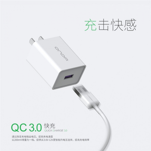 A18 QC3.0 mobile charger adapter Quick Charging Charger Adapter Exporter US Plug For Cellphone and Tablets