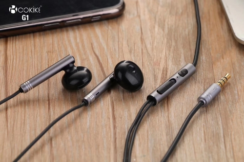G1 small earphones Manufacturer mobile Headset Wired Sports Stereo For Smartphones and Tablets