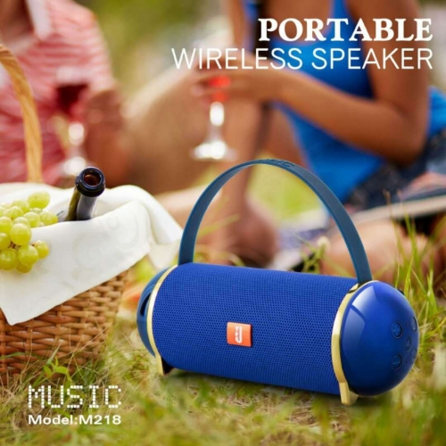 M218 Outdoor Active Speaker Wholesaler Wireless Multimedia Speaker portable handle