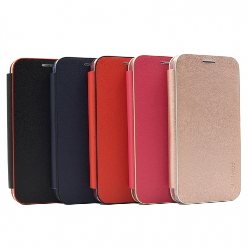 M15-014 Handphone Flip Wallet Protective Case Provider Magnetic absorption Folding Case Scrape prevention Shockproof