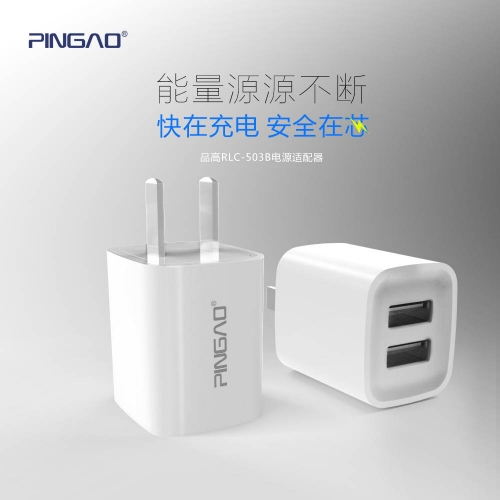 RLC-503B 2.1A travel phone charger universal cell phone charger Exporter US Plug For Cellphone and Tablets