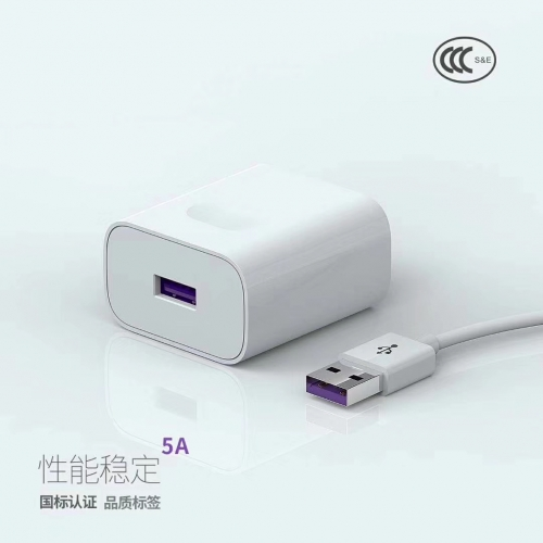 A20 5.0A Huawei Super Quick Charger universal phone charger Fast USB Charger Adapter Wholesaler With Type-C Cable US Plug For Mobile phone and Tablets