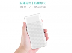 P043D 10000mAh QC3.0 fast charging power bank portable backup charger Manufacturer support Micro USB/Type-C Dual Input