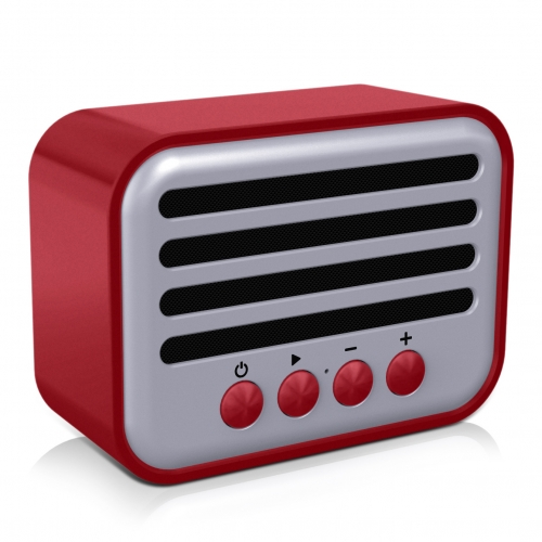 NR-102 Outdoor Small Speaker Supplier MP3 Speakers Exporter Patent design Mini unique gift bluetooth speaker