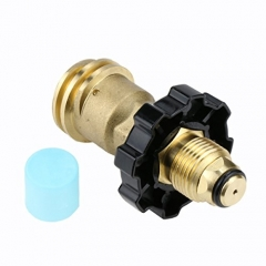 Gasland Universal Propane Gas Adapters POL to QCC1 Twist to Hand Tighten Old to New Style