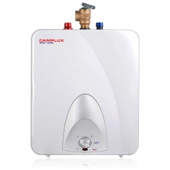 Camplux ME60 Mini Tank Electric Water Heater 6-Gallon,1.44kW at 120 Volts