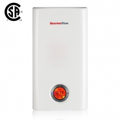 Thermoflow Elex 24 Electric Tankless Water Heater,24kW at 240 Volts, Instant Hot Water Heater with Self-Modulating Temperature Technic for Whole Hose