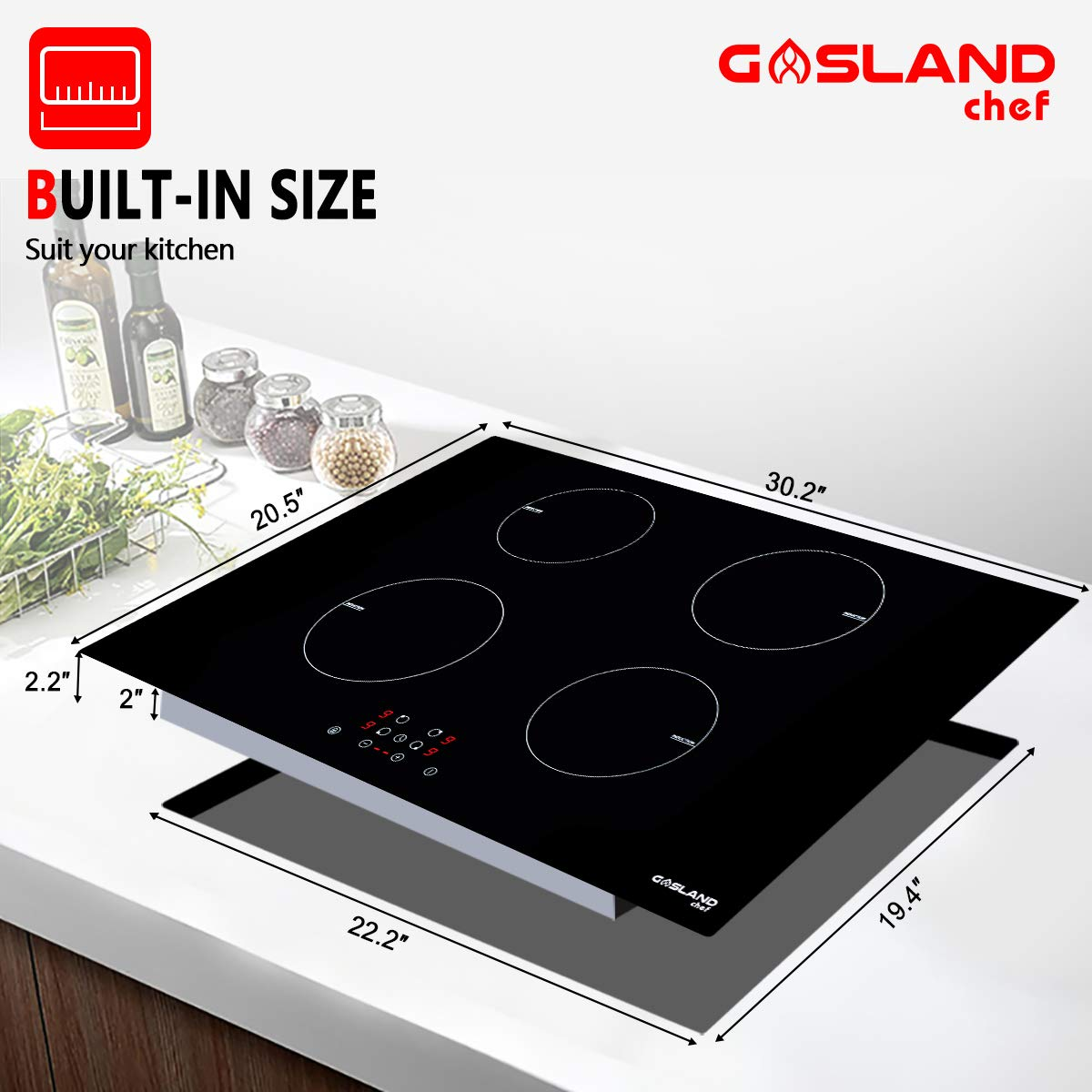 Gasland chef IH77BF Induction Cooktop 30