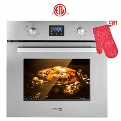 "Gasland Chef ES609DS 24"" Built-in Stainless Steel Electric Wall Oven With Cooling Down Fan"