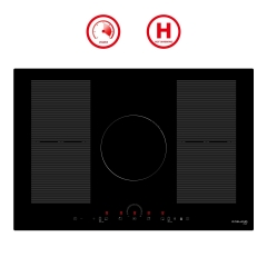 "Gasland Chef IH77BFH Induction Cooktop, 30"" Built-in 4 Burners Drop-in Round Slider Control Electric Induction Stove Top"