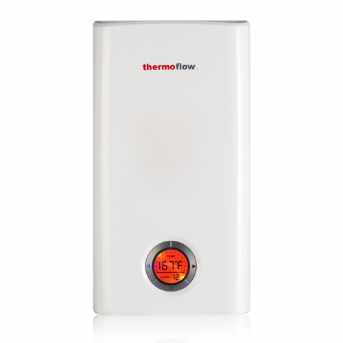 Thermoflow Elex 15 Tankless Water Heater Electric, 15kW at 240 Volts Instant Hot Water Heater with Self-Modulating Temperature Technology
