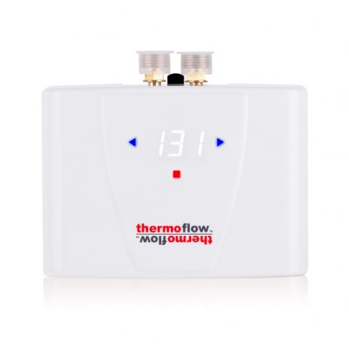Thermoflow Elex 5.5-Plus Electric Tankless Water Heater On Demand for Kitchen & Wash Basins, 5.5kW at 240 Volts