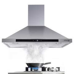 Gasland Chef PR36SS 36-inch Stainless Steel Wall Mount Kitchen Hood, 3 Speed 450-CFM Sensor Touch Control Exhaust Hood Fan