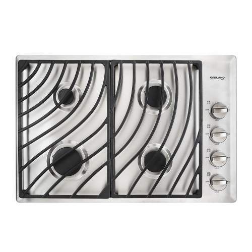 GASLAND Chef GH1304SS 4 Italy Sabaf Sealed Burner Gas Stovetop, 30 inch Drop in Gas Range Cooktop, 28,300 BTU NG/LPG Convertible