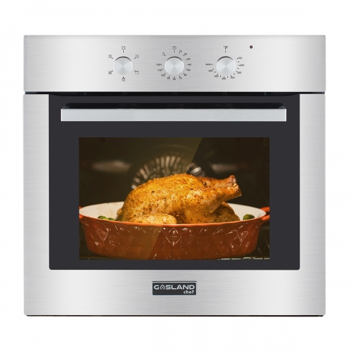 "Gasland Chef ES605MS 24"" Built-in Stainless Steel Electric Wall Oven With Cooling Down Fan"
