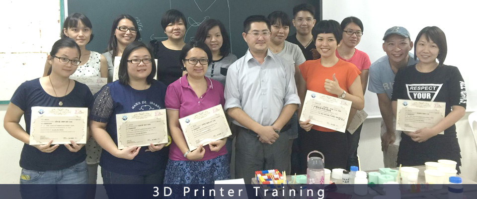 Creality3D printer training
