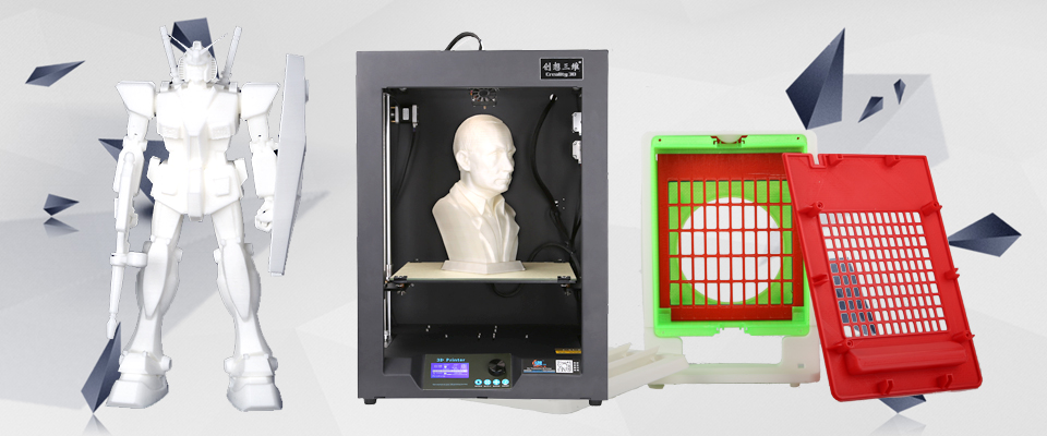 Creality 3d printer and modules