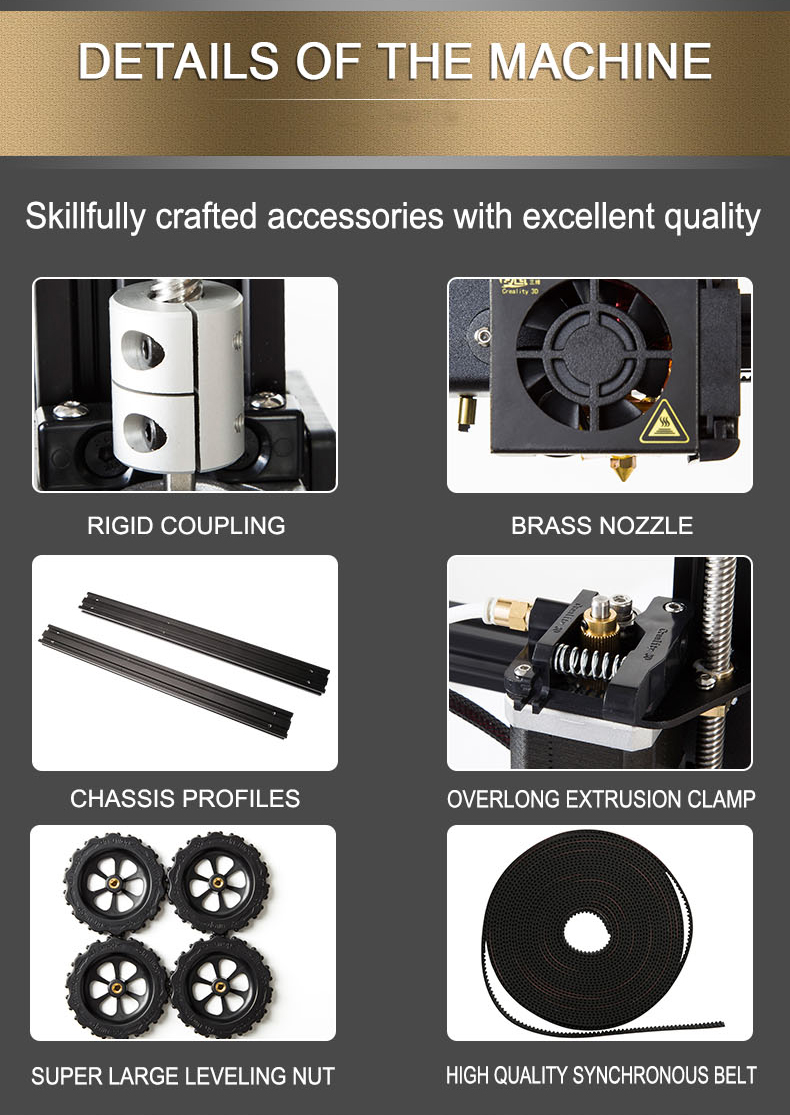 Accessories of CR-10
