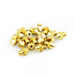 3Pcs Brass Mk8 Nozzle Print Head 0.8mm For 1.75MM Filament MakerBot Replacement Print Head Extrude