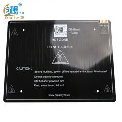 Creality 3D Hot Heated Bed Board For CREALITY 3D Printer CR-10/CR-10 Mini/Ender-3 300 220 300mm 3D Printer Parts