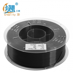 CREALITY3D 1.75mm PLA Filament Black Color High Quality N.W 1000g for FDM 3D Printer