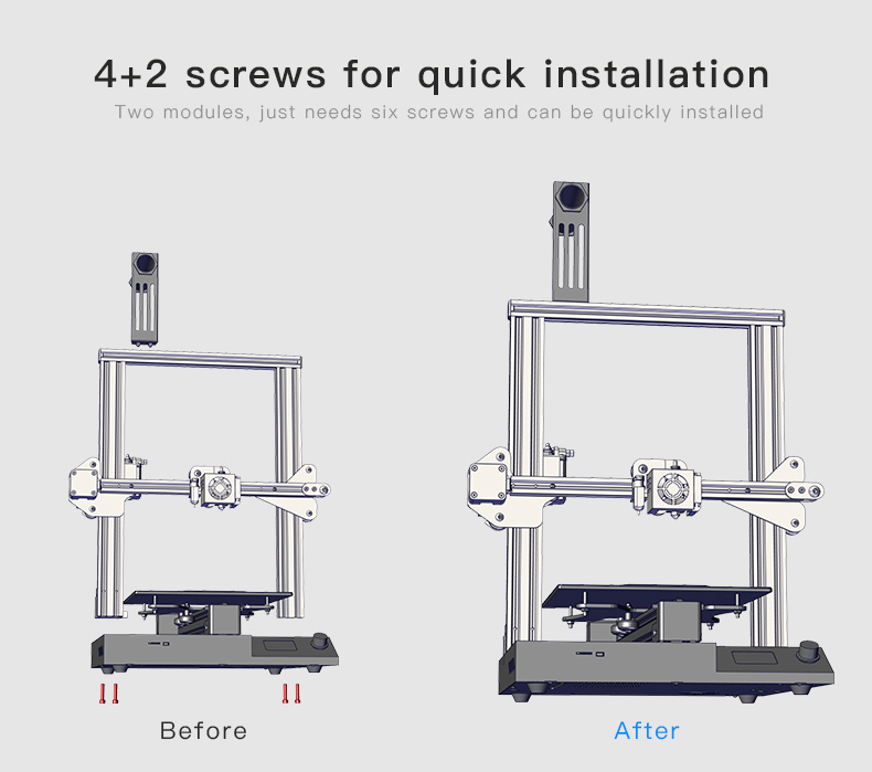 improvement of 3d printer CR-20 Pro
