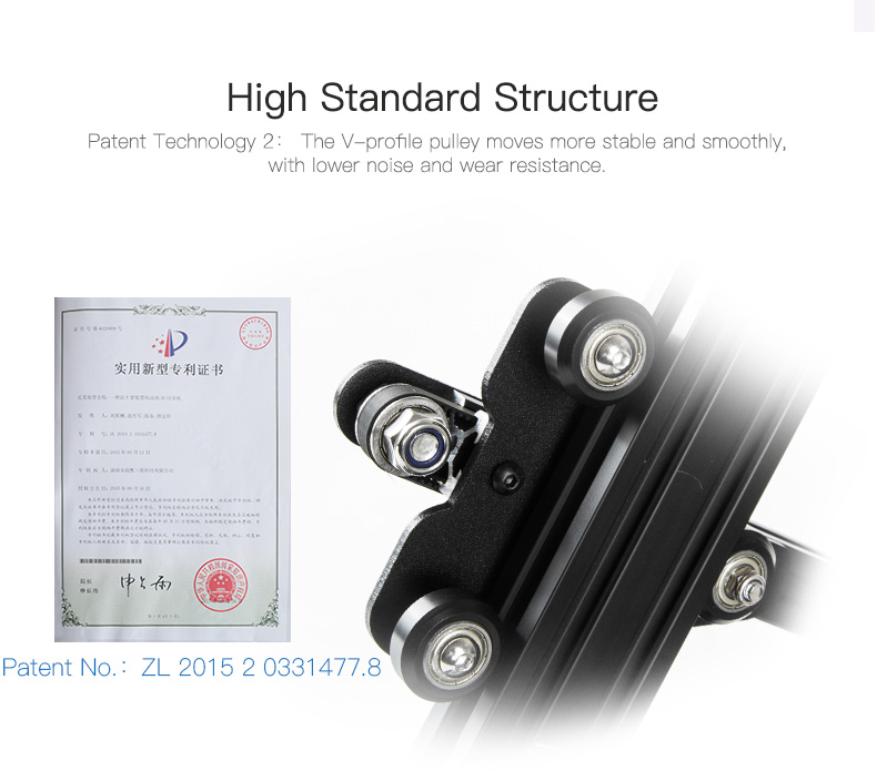 Certificates of 3d printer CR 20 Pro