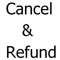 Cancel & Refund & Compensation