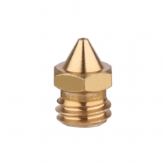 3Pcs Brass Mk8 Nozzle Print Head 0.4mm For CR-X MakerBot Replacement Print Head Extrude