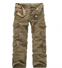 OUTDOOR CASUAL RUGGED TACTICAL CARGO TROUSERS