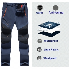 WATERPROOF CAMPING TREKKING FLEECE OUTDOOR CYCLING HIKING PANTS