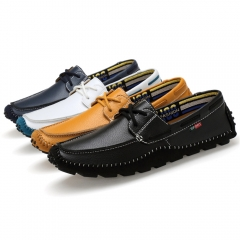 Italian Genuine Leather Loafers Driving Shoes