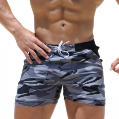 Men's camouflage Swimshorts Beach Long Board Shorts Boxer