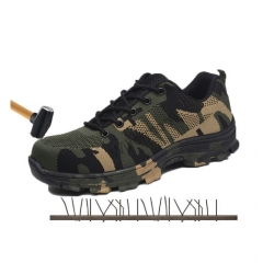 Men's Camouflage Military Work & Safety Boots Shoes Army Proof Boots