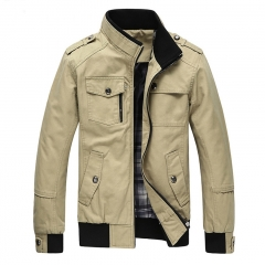 Men Spring Army Military Jacket