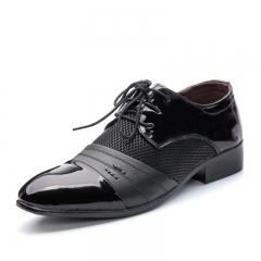 Business Men Formal Shoes Leather Oxford Dress Shoes